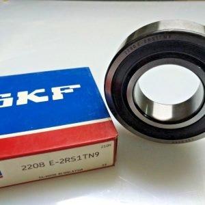 2208 E-2RS1TN9 SKF Self-aligning ball bearings