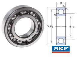 16032 -SKF Deep Groove Bearing