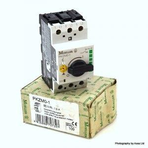 Θερμομαγνητικός Διακόπτης με περιστρ. χειριστήριο MOELLER PKZM01-1 0,63 - 1A. Αυτόματος διακόπτης προστασίας