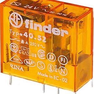 40.52.8.110.0000 FINDER Mini Relay: electromagnetic