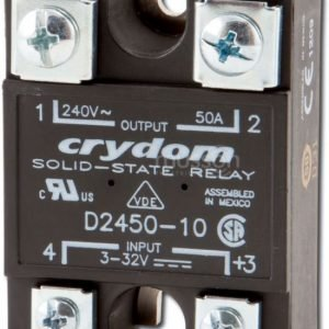 CRYDOM D2450 Solid State Relay Input VDC Output VAC