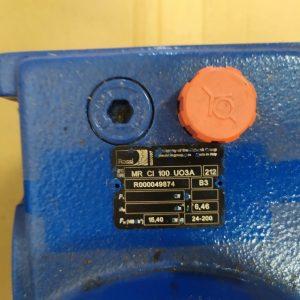 ROSSI Motoriduttori MR CI 100 U03A Gear Reductor Helicoidal i = 6,46 15,4Kw Φ 24-200