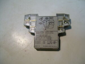 NHI21-PKZ0 - Standard auxiliary contact, 2N/O+1N/C, screw connection