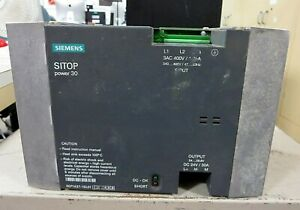 6EP1437-1SL01 Siemens SITOP Power 30 30A (USED)