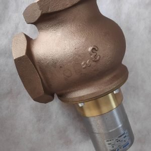 VALVAUT Z204803 C3 SHUTTLE VALVE WITH RIGHT-ANGLE CONNECTION