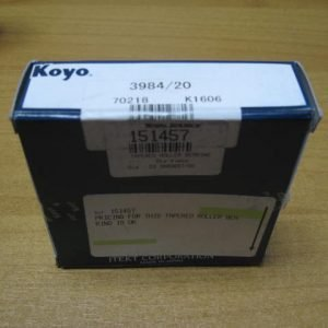 3980/20 KOYO Tapered roller bearing Single row