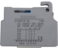3TX4010-2A SIEMENS Auxiliary contact block