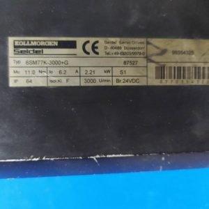6SM77K-3000+G Kollmorgen Servo Motor 2,21KW 3000rpm