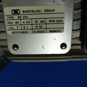 Bonfiglioli BC270 450W 2000Rpm