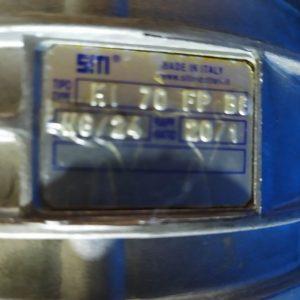 MI 70 FP B8 SITI GEARBOX 20/1