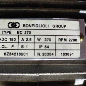 Bonfiglioli BC270 370W 2700Rpm