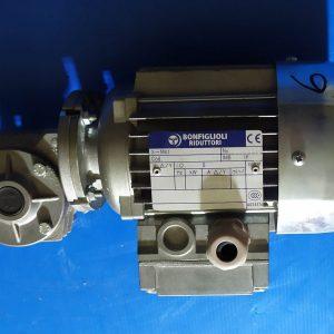 BONFIGLIOLI MOTOR A.C. BN 27 C4 0,09 KW / 1350rpm + Gearbox VF27 F1 P27 i=15