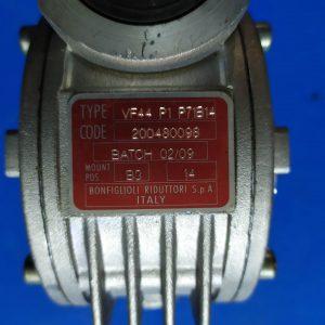 BONFIGLIOLI Gearbox VF44 P1 P71B14 i=14