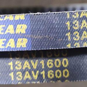 13AV1600 GOODYEAR Cogged Replacement V-Belt