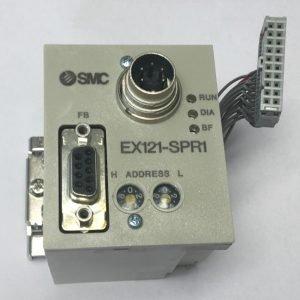 SMC EX121-SPR1 SI UNIT PROFIBUS 16 OUTPUT*LQA