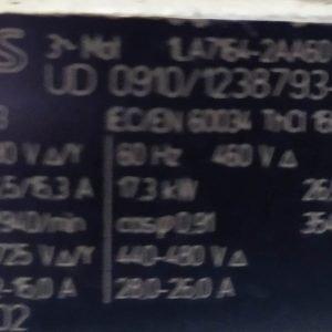 1LA7164-2AA60 Siemens three-phase Squirrel-Cage-Motor