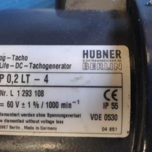 BAUMER HUBNER TDP 0,2 LT-4 TACHOGENERATOR