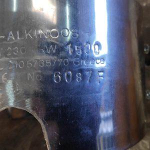 6087F Circular Electric Heating Element (1500W, 400V, 150x90)