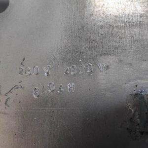 6404H Electric Heating Element (2000W, 230V, 200x295)