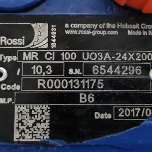 ROSSI MOTORIDUTTORI MR CI 100 UO3A - 24x200 GEARBOX WORMDRIVE i=10,3