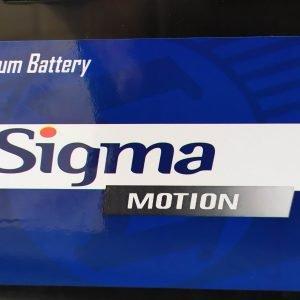 Sigma Motion Batteries